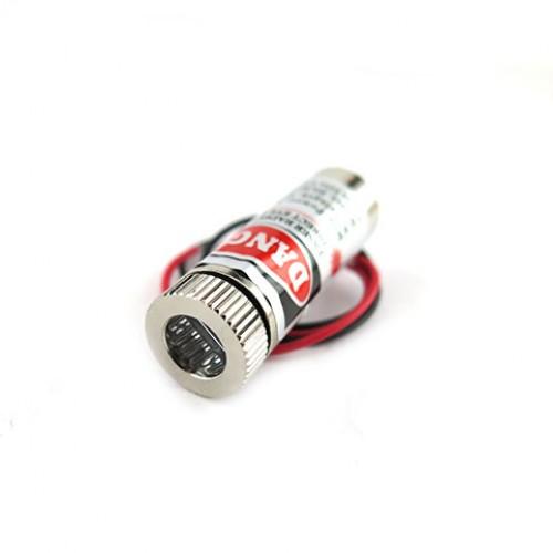 ماژول لیزر قرمز 3 ولت Cross 5mw 650nm با قابلیت تنظیم نور
