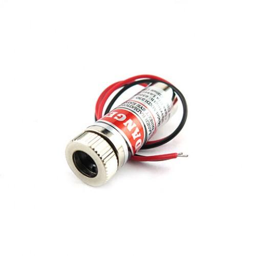 ماژول لیزر قرمز 3 ولت نقطه ای 5mw 650nm با قابلیت تنظیم نور