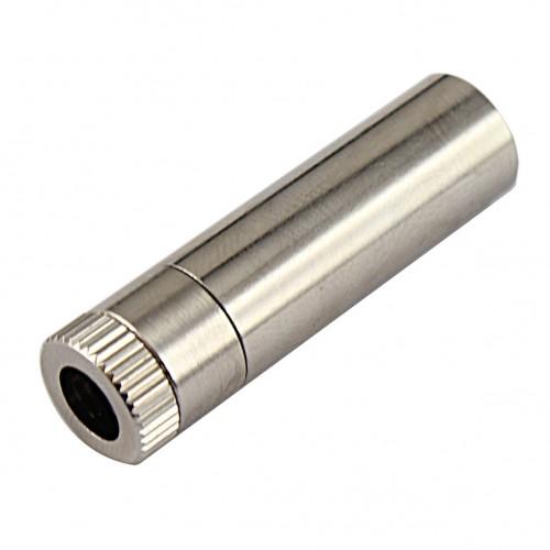 کیس تمام فلزی دیود لیزر به همراه لنز شیشه ای - ابعاد 12x45mm